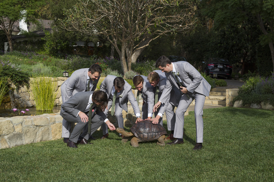 www.santabarbarawedding.com | San Ysidro Ranch | David Kepner Photography | Groomsmen