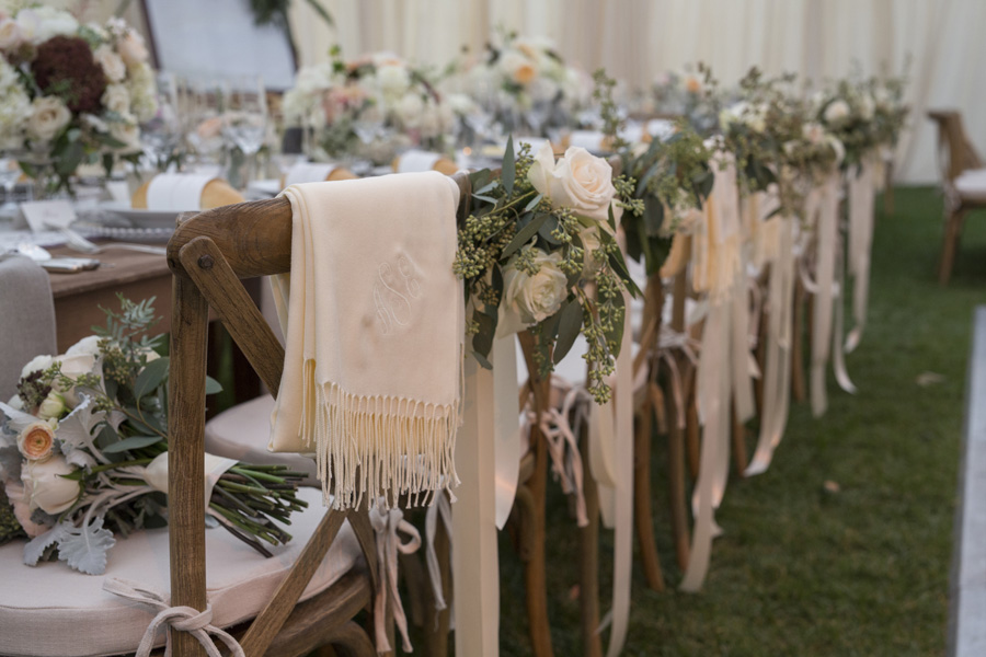 www.santabarbarawedding.com | San Ysidro Ranch | David Kepner Photography | Reception Tables