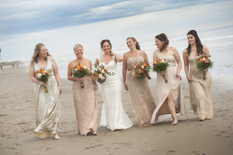 www.santabarbarawedding.com | By Cherry Photography | Rincon Events | Bridesmaids