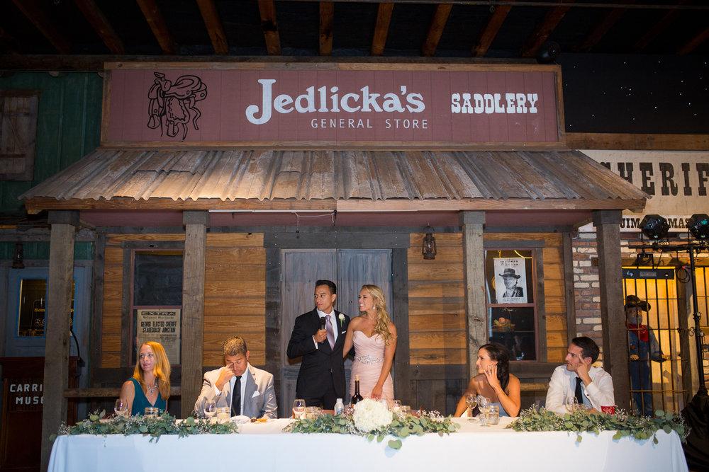 www.santabarbarawedding.com | Carriage Museum | Kiel Rucker Photography | Reception
