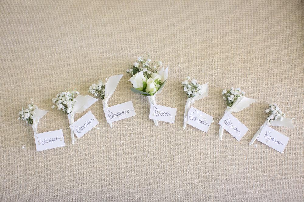 www.santabarbarawedding.com | Kelsey Crews Photography | Boutonnieres