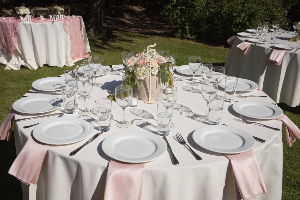 www.santabarbarawedding.com | Kelsey Crews Photography | Reception Table
