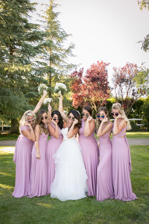 www.santabarbarawedding.com | Kelsey Crews Photography | Bridesmaids