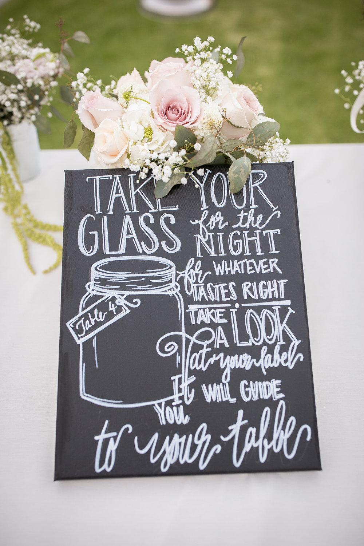 www.santabarbarawedding.com | Kelsey Crews Photography | Wedding Favors | Mason Jars