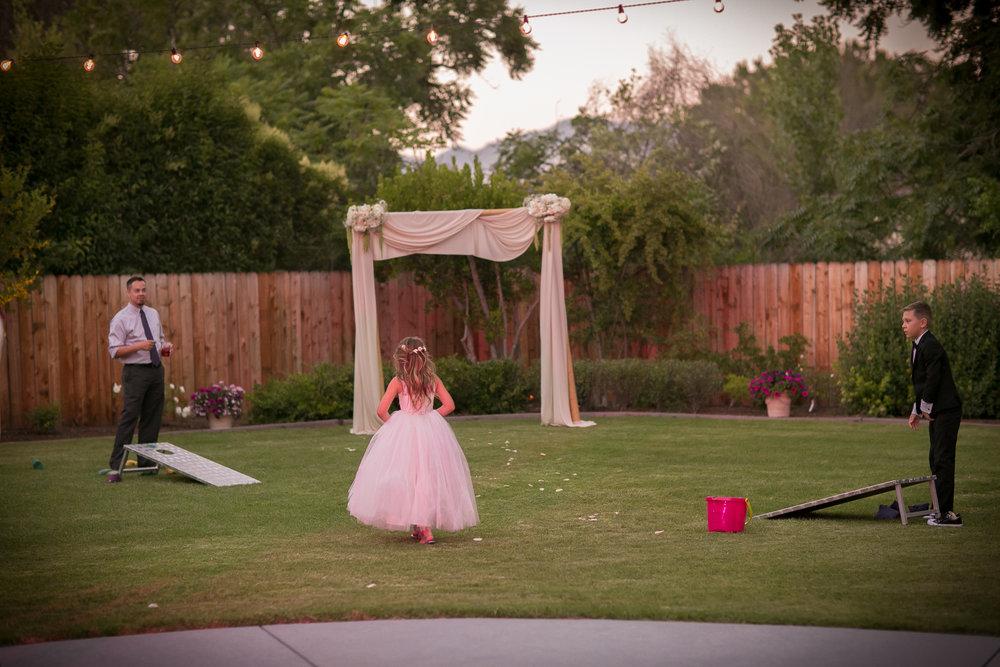 www.santabarbarawedding.com | Kelsey Crews Photography | Yard Games