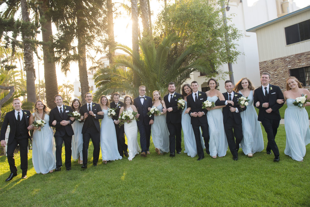www.santabarbarawedding.com | ByCherry Photography | Felici Events | Convivo Restaurant | Bridal Party