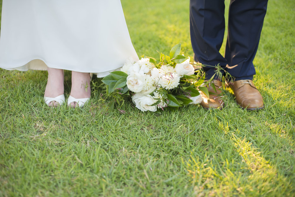 www.santabarbarawedding.com | ByCherry Photography | Felici Events | Convivo Restaurant | Bride and Groom Shoes