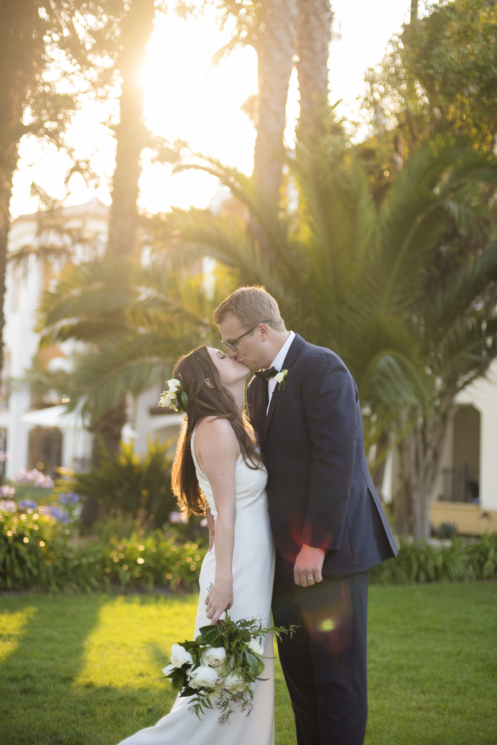 www.santabarbarawedding.com | ByCherry Photography | Felici Events | Convivo Restaurant | Bride and Groom