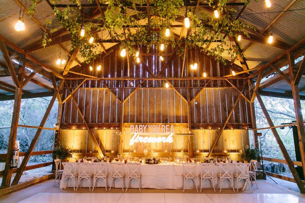 www.santabarbarawedding.com | Dos Pueblos Ranch | Birds of a Feather | Head Table | Reception