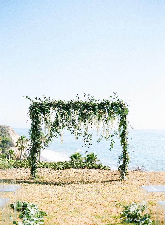 www.santabarbarawedding.com | Dos Pueblos Ranch | Birds of a Feather | Wedding Arch