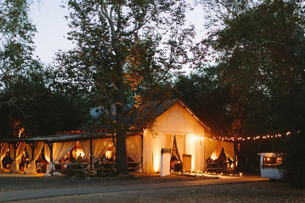 www.santabarbarawedding.com | Dos Pueblos Ranch | Birds of a Feather | Reception at Night