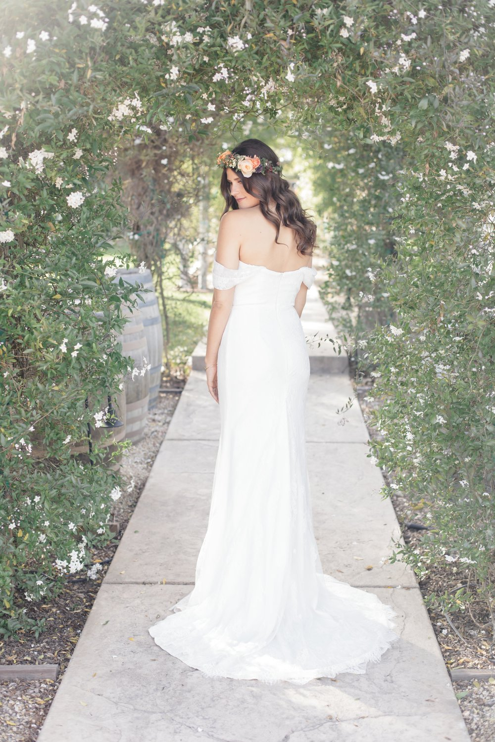 www.santabarbarawedding.com | Molly + Co | Sogno Del Fiore | Bride