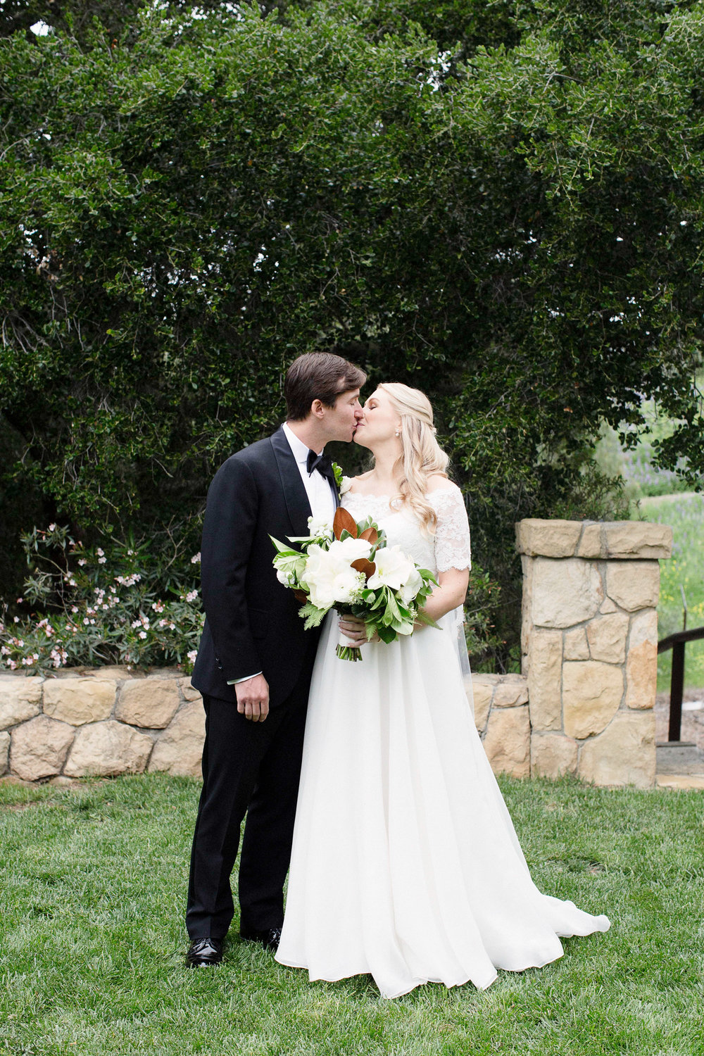 www.santabarbarawedding.com | Villa Verano | Clarissa Koenig Photography | Felici Events | Bride and Groom