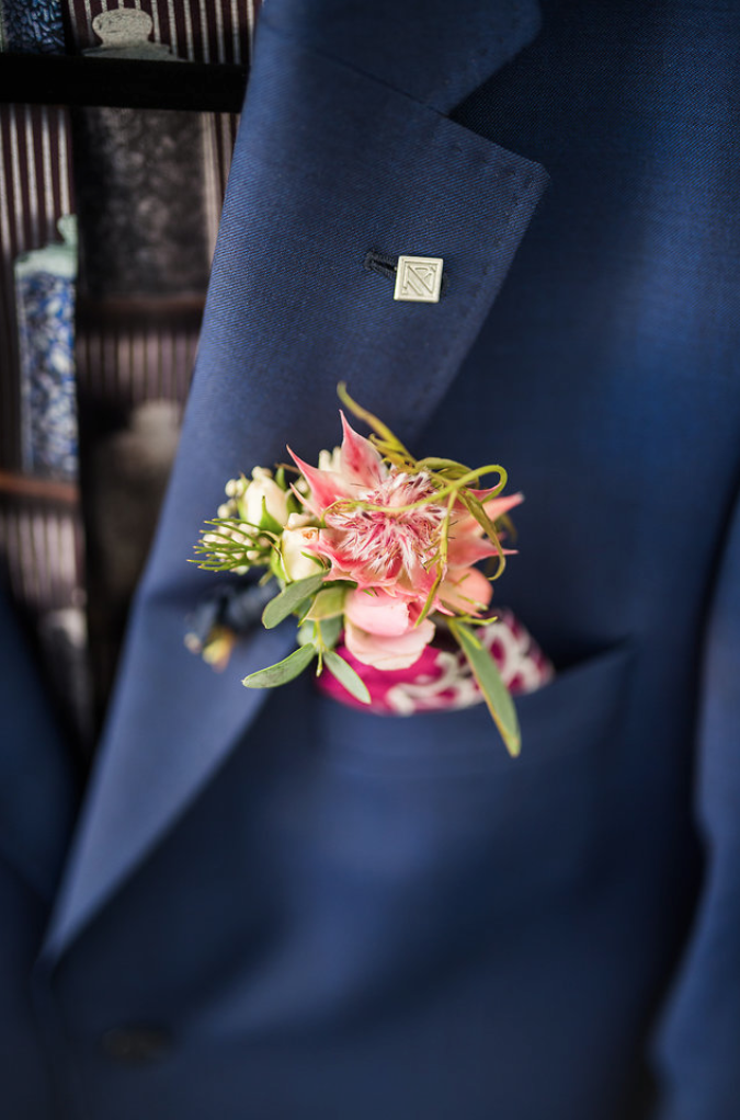 www.santabarbarawedding.com | Mattei's Tavern | Staci Stack Photography | Boutonniere