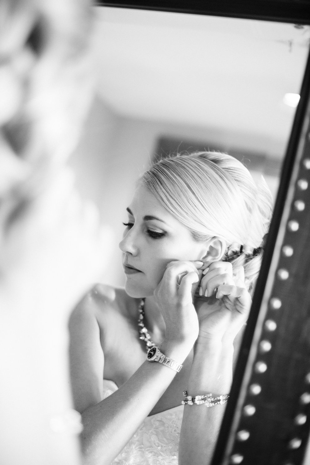 www.santabarbarawedding.com | By Cherry Photography | Chase Palm Park | Bride Getting Ready