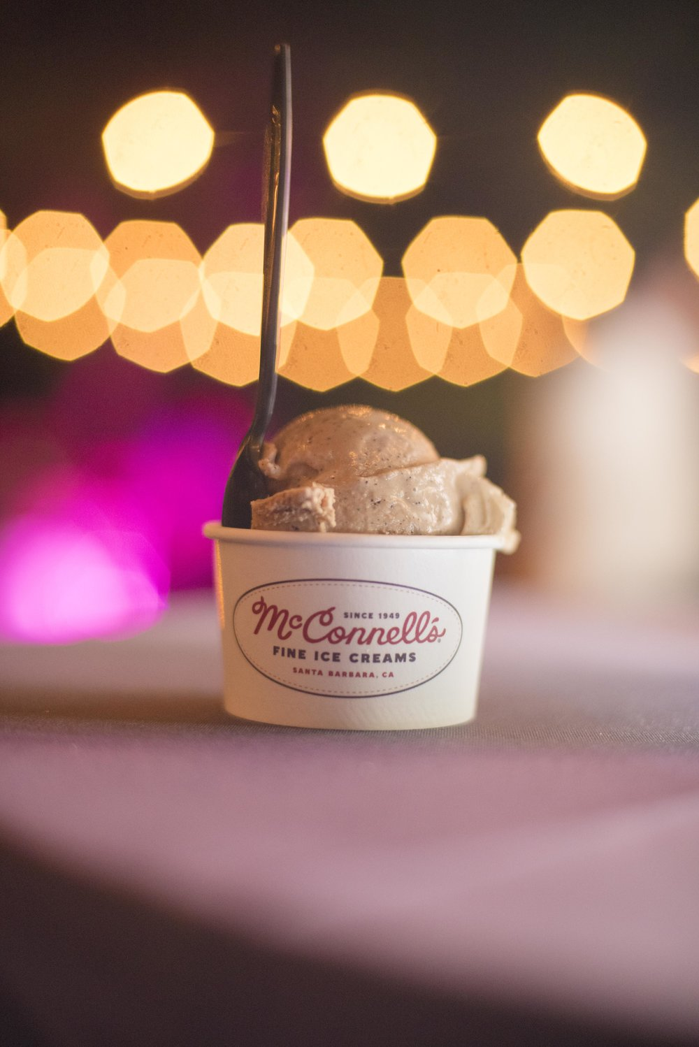 www.santabarbarawedding.com | By Cherry Photography | Chase Palm Park | Ice Cream