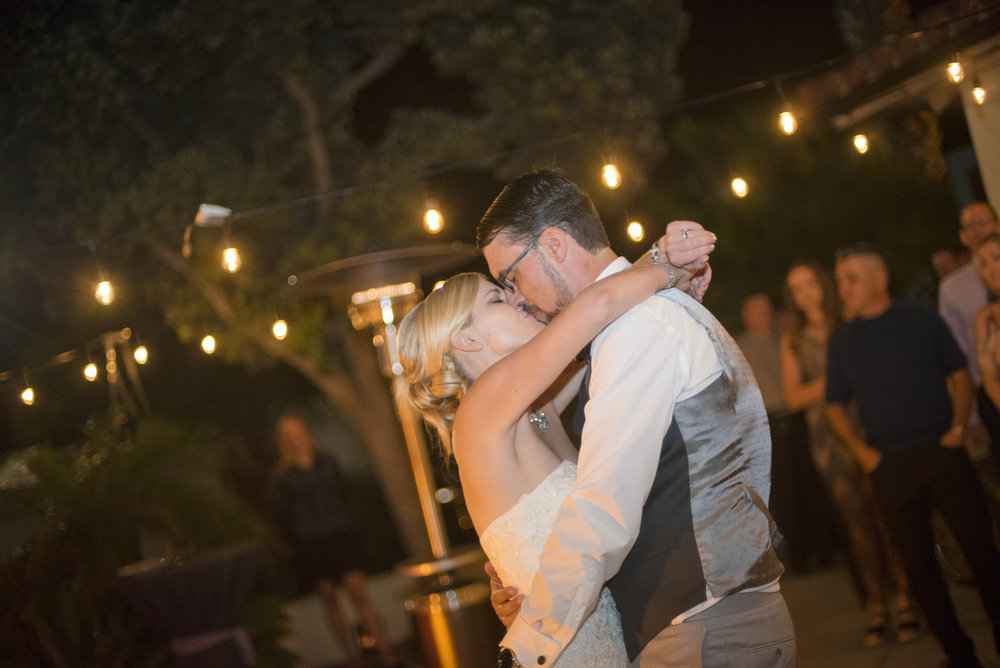 www.santabarbarawedding.com | By Cherry Photography | Chase Palm Park | First Dance