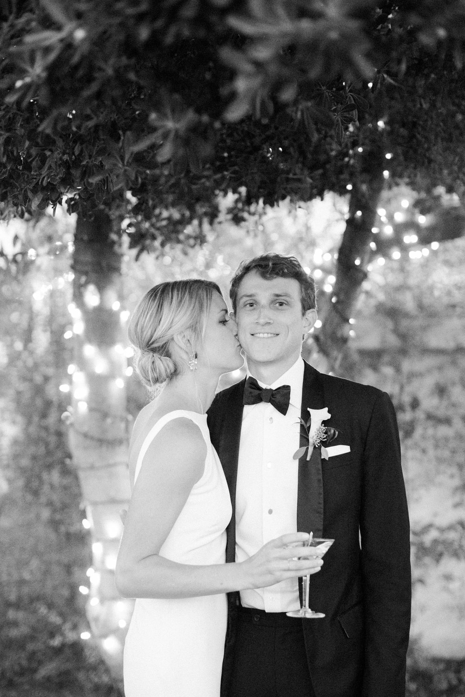 www.santabarbarawedding.com | Kelsey Crews | Felici Events | Santa Barbara Club | Bride and Groom