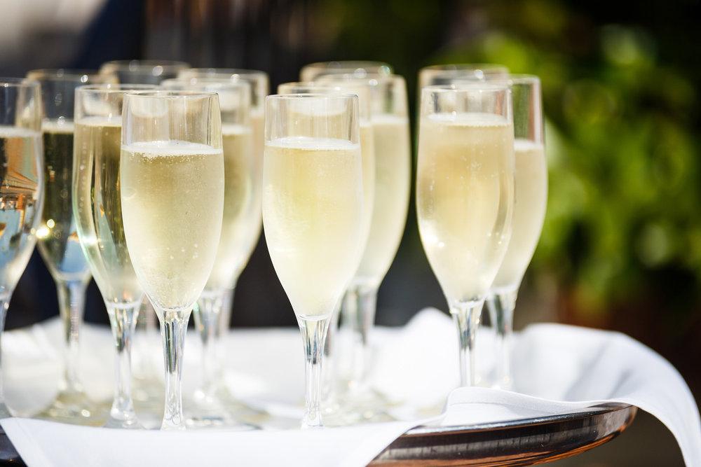 www.santabarbarawedding.com | Kiel Rucker | Canary Hotel | Champagne