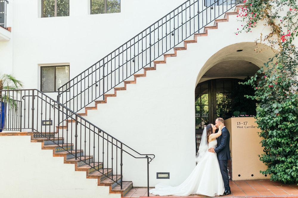 www.santabarbarawedding.com | Kiel Rucker | Canary Hotel | Bride and Groom
