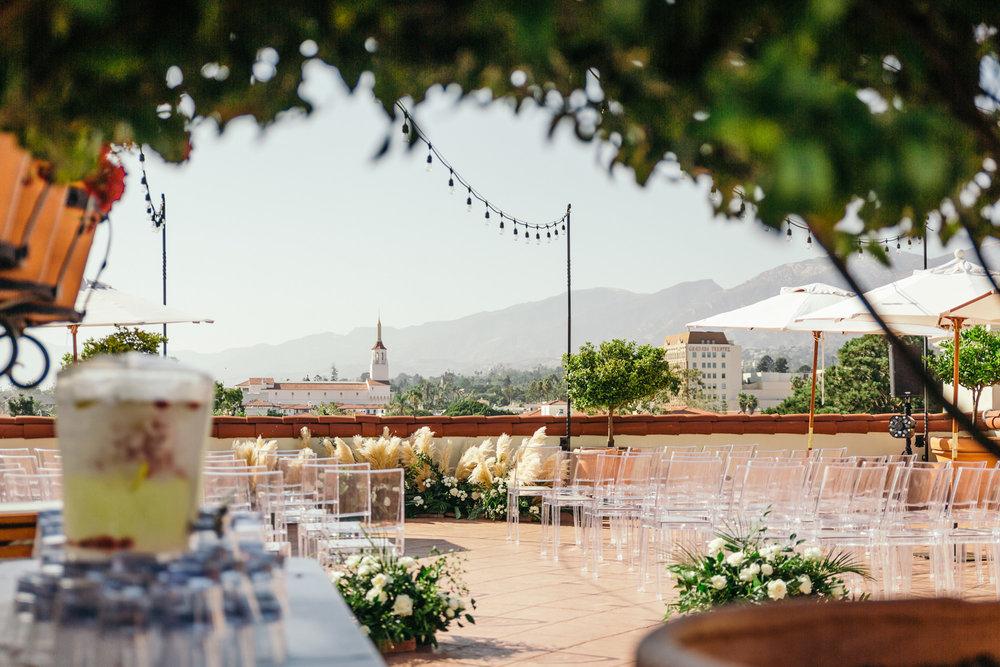 www.santabarbarawedding.com | Kiel Rucker | Canary Hotel | Ceremony