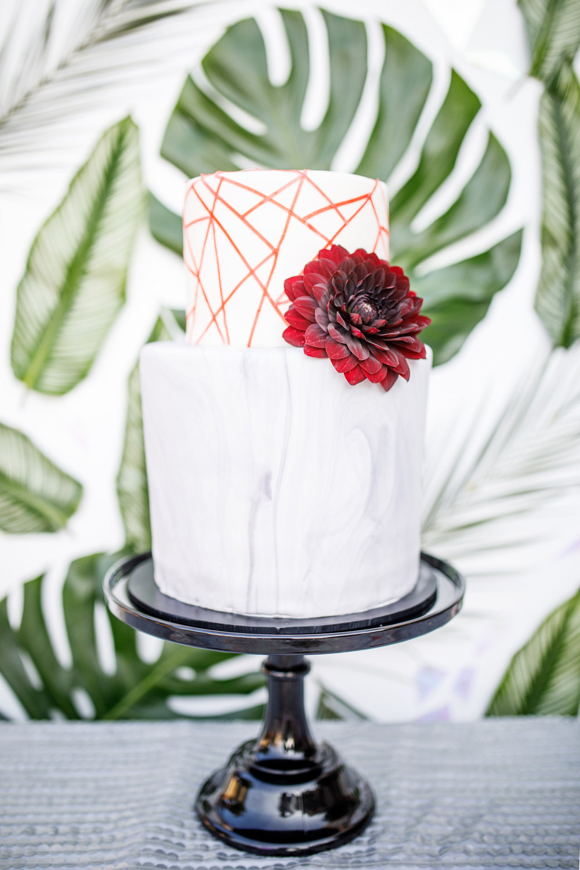 www.santabarbarawedding.com | Kiel Rucker | Canary Hotel | Wedding Cake
