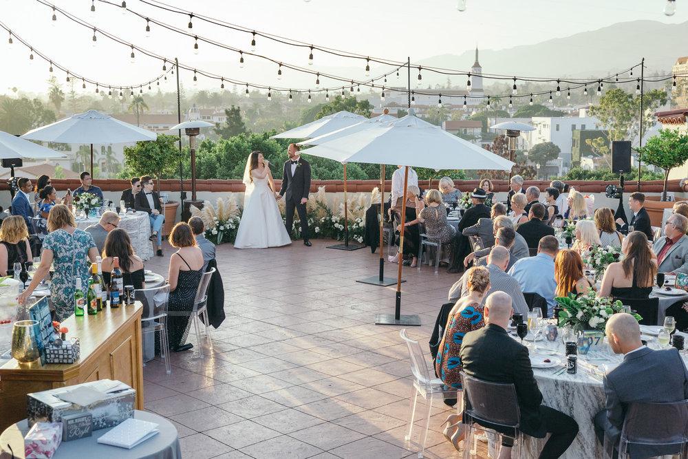 www.santabarbarawedding.com | Kiel Rucker | Canary Hotel | Reception