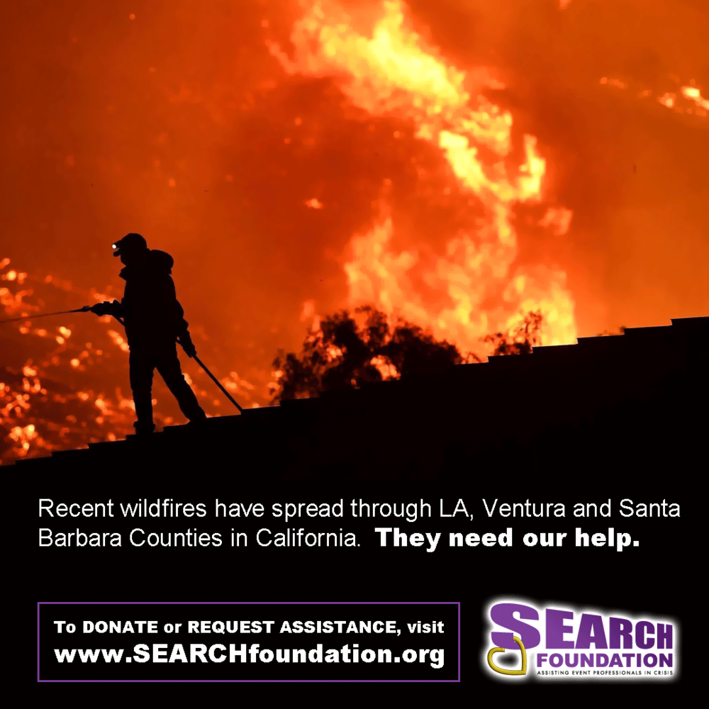 Southern California Fires - How #EventPros can help or ask for