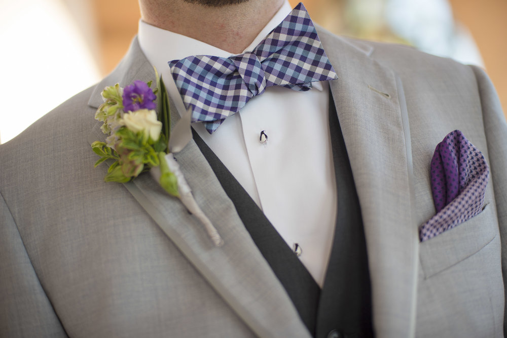 Santa Barbara Wedding Style | ByCherry Photography | Pantone Color of the Year | Ultraviolet | Groom Attire