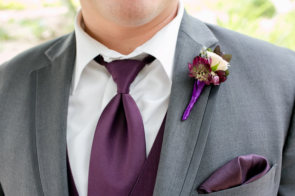 Wedding Ideas | Margaret Joan Floral | Kesley Crews | Wedding Planner Zohe Felici | Pantone Color of the Year | Ultraviolet | Groom Attire