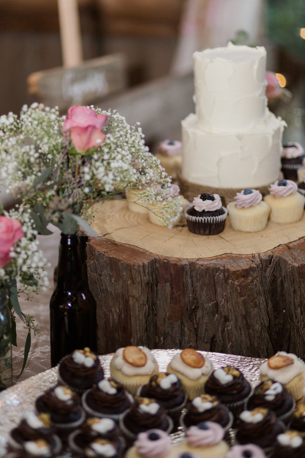 www.santabarbarawedding.com | Kaitie Brainerd Photo | Rancho Dos Pueblos | Wedding Cake