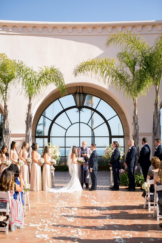 www.santabarbarawedding.com | Kelsey Crews | Fess Parker Doubletree | Ceremony
