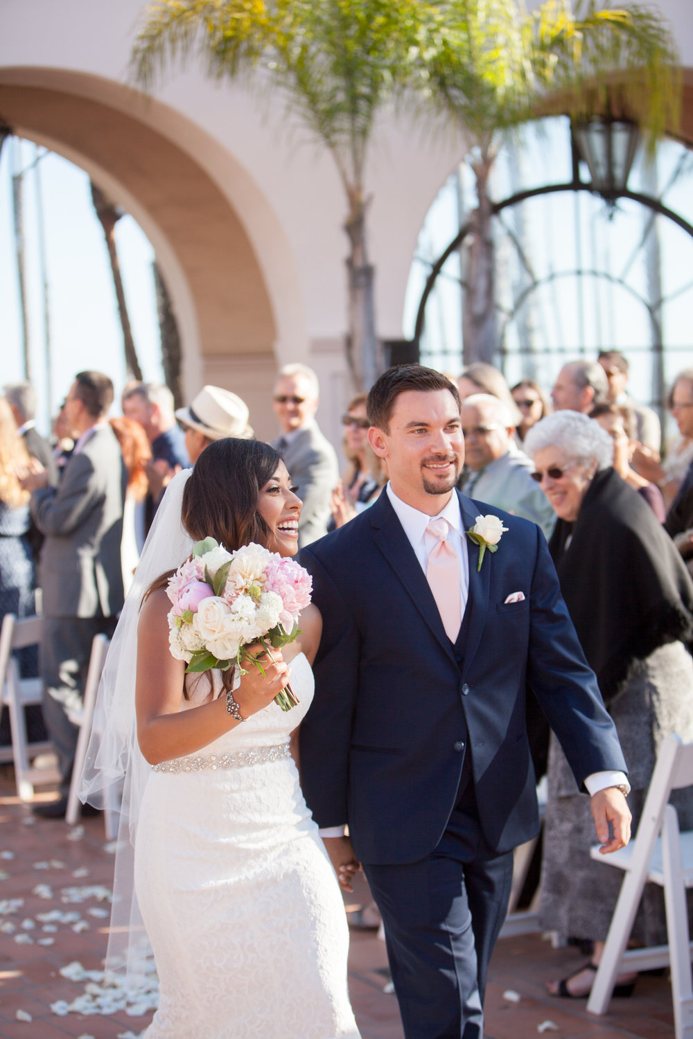 www.santabarbarawedding.com | Kelsey Crews | Fess Parker Doubletree | Bride and Groom