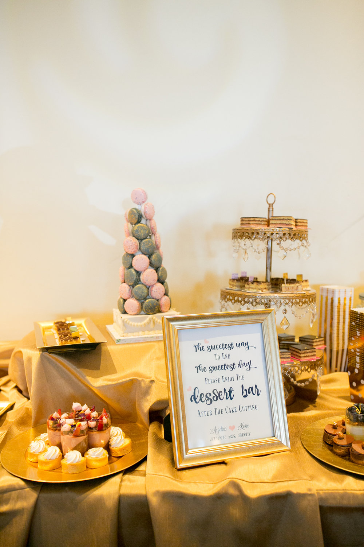 www.santabarbarawedding.com | Kelsey Crews | Fess Parker Doubletree | Dessert Table