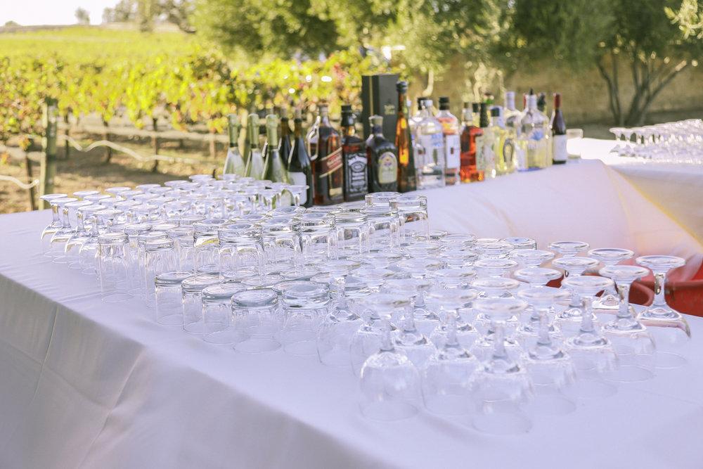 www.santabarbarawedding.com | Joseph Henry Photo | Sunstone Winery | Drinks
