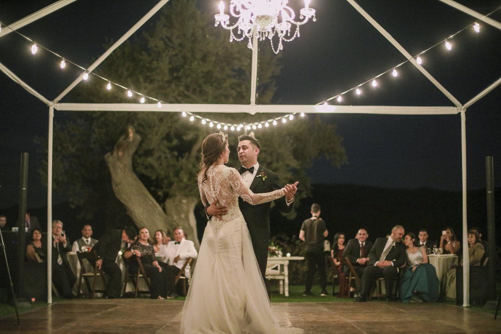 www.santabarbarawedding.com | Joseph Henry Photo | Sunstone Winery | Bride and Groom | First Dance