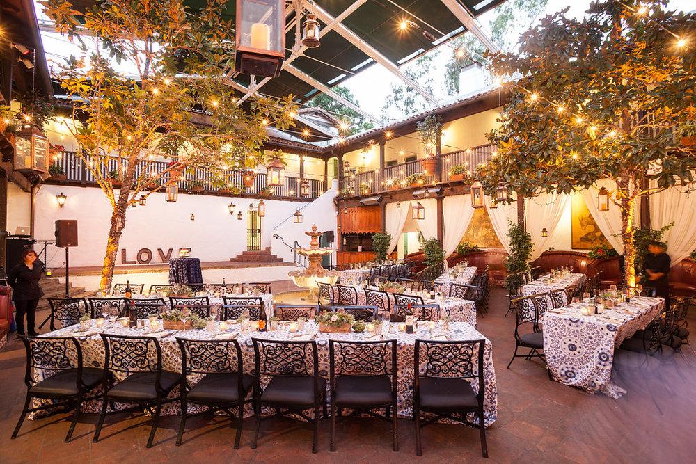 www.santabarbarawedding.com | Felici Events | Melissa Musgrove | El Paseo | Reception