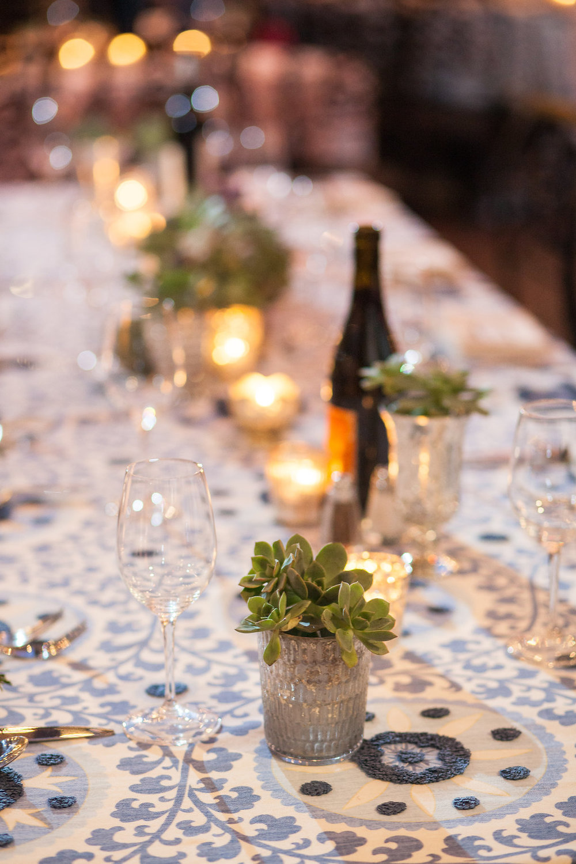 www.santabarbarawedding.com | Felici Events | Melissa Musgrove | El Paseo | Reception Details