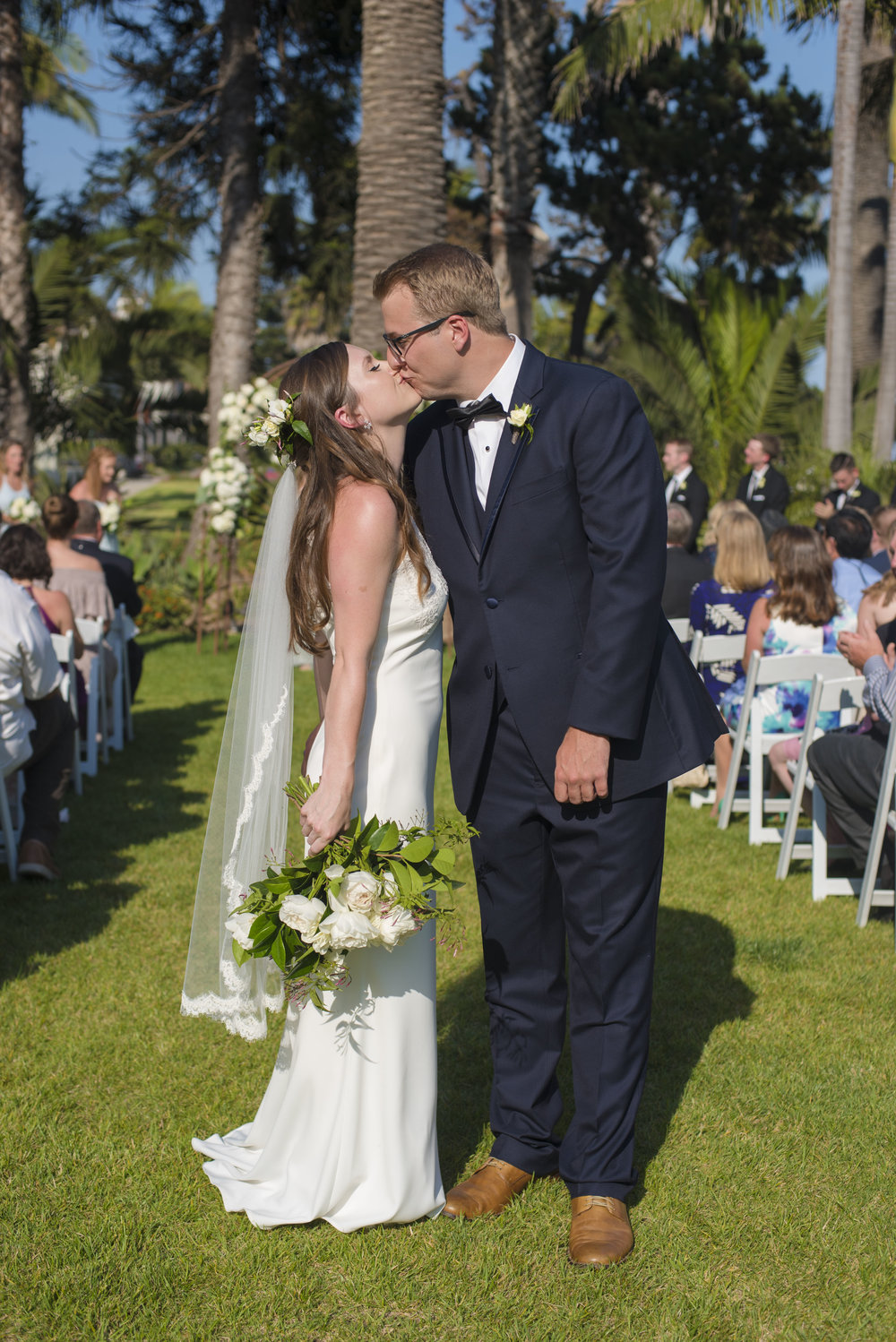 www.santabarbarawedding.com | By Cherry Photography | Convivo | Felici Events | Bride and Groom