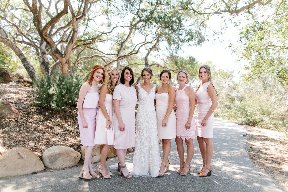 www.santabarbarawedding.com | Josh Newton | Elings Park | Burlap & Bordeaux | Bridesmaids