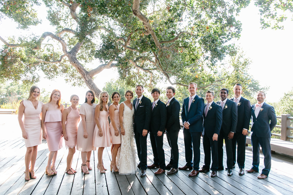 www.santabarbarawedding.com | Josh Newton | Elings Park | Burlap & Bordeaux | Bridal Party