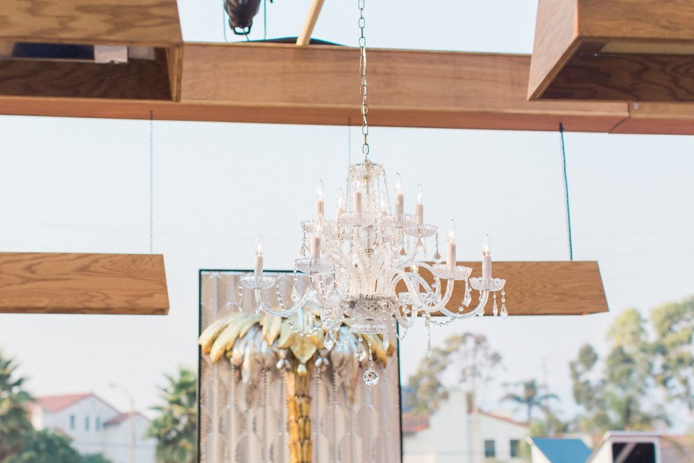 www.santabarbarawedding.com | bellavista design | chandelier rental | lighting | decor | James and Jess photography