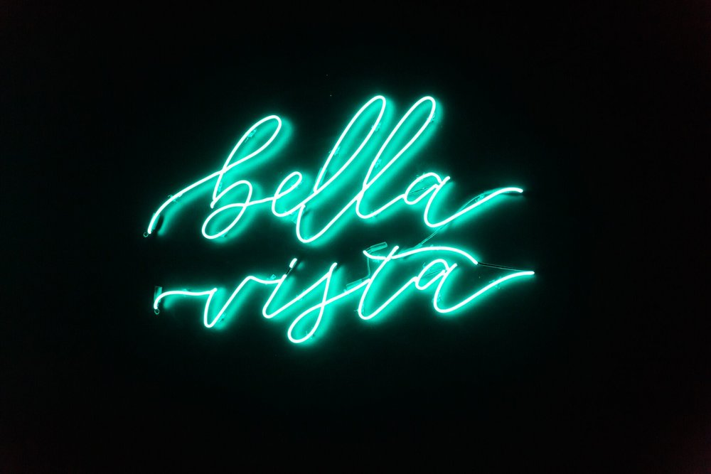 www.santabarbarawedding.com | bellavista design | neon sign | lighting | decor |  | James and Jess photography