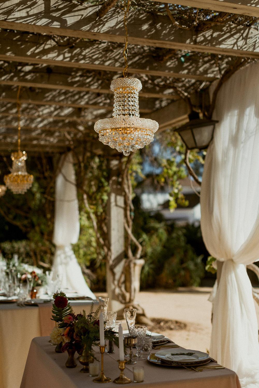 www.santabarbarawedding.com | bellavista design | chandelier rental | lighting | decor