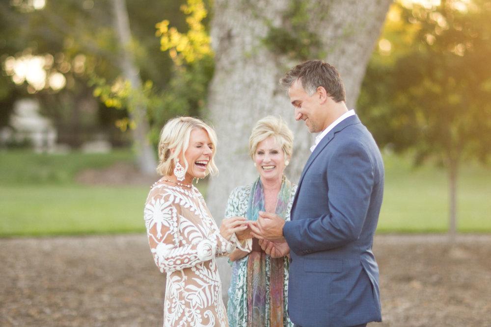 www.santabarbarawedding.com | Atelier de La Fleur Weddings & Events | Mike Larson | Ceremony | Bride and Groom