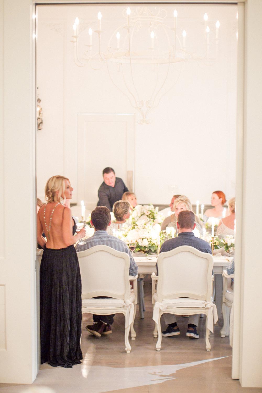 www.santabarbarawedding.com | Atelier de La Fleur Weddings & Events | Mike Larson | Bride at Reception