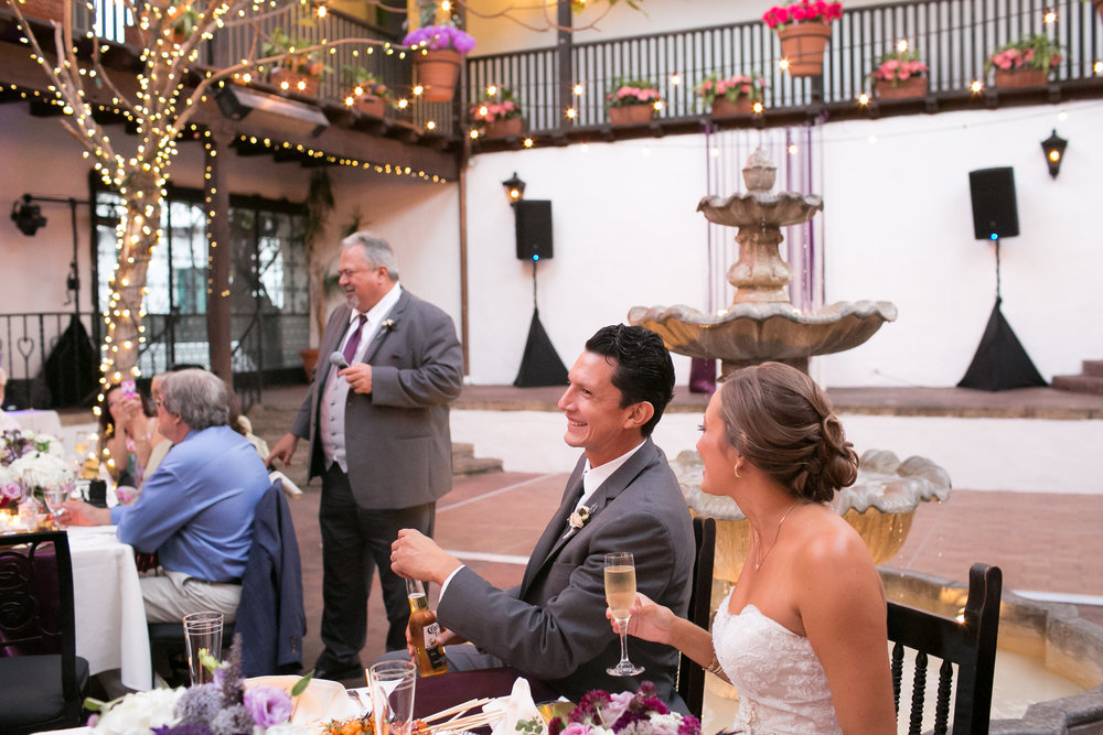 www.santabarbarawedding.com | Kelsey Crews | Felici Events | El Paseo | Bride and Groom