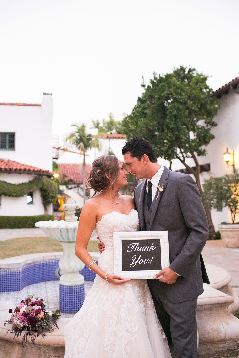 www.santabarbarawedding.com | Kelsey Crews | Felici Events | El Paseo | Reception | Bride and Groom