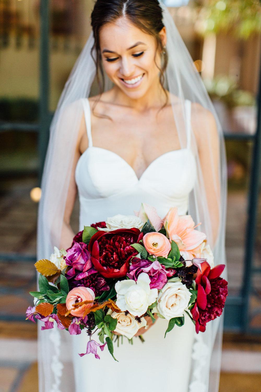 www.santabarbarawedding.com   Jihan Cerda   Villa Verano   Ella & Louie   Bridal Bouquet