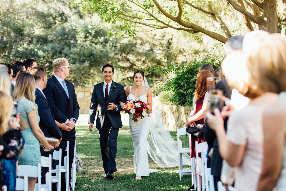 www.santabarbarawedding.com   Jihan Cerda   Villa Verano   Ceremony